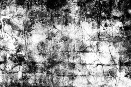Grunge black and white distress texture . Scratch and texture 写真素材