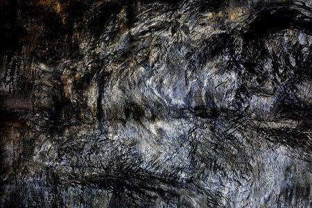Grunge black and white distress texture 写真素材