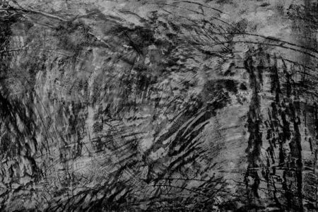 Grunge black and white distress texture . Scratch and texture Imagens