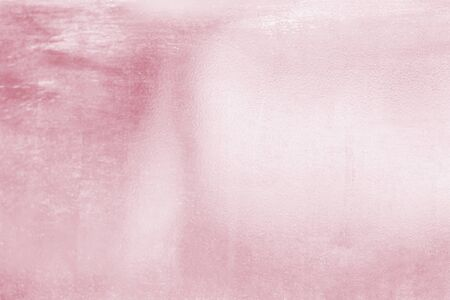 Pink metal rose gold tone background or texture and gradients shadow for valentines.