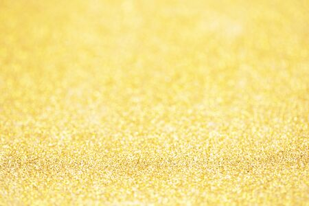 Gold sparkle glitter for Christmas background.  写真素材