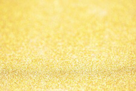 Gold sparkle glitter for Christmas background.  Imagens