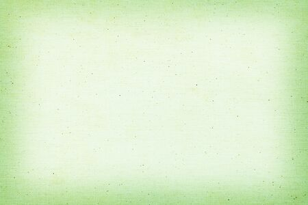 Green old linen fabric texture and copy space for christmas background
