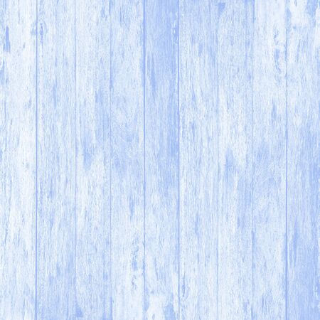 Blue wood wall plank texture or background