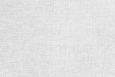 White linen fabric texture or background. 写真素材