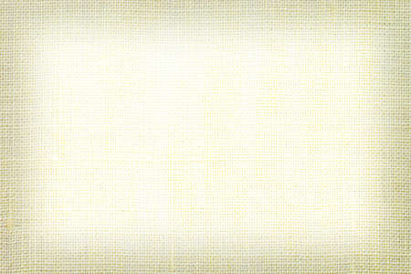 Yellow linen fabric texture or background. Reklamní fotografie