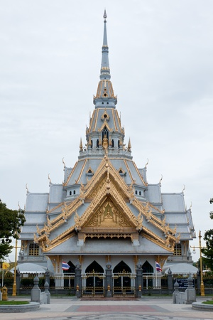 chachoengsao: Sothorn Temple at Chachoengsao province, Thailand Stock Photo