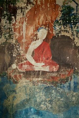 Ancient At Wat Ubosottharom Uthai Thani province, Thailand Stock Photo - 10396399