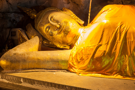 buddah in cave