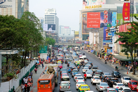 congestion: Traffic congestion The problem needs to be solved in Bangkok Editorial