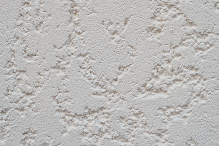 White stucco cement wall background texture empty Banque d'images