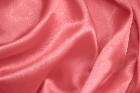 Pink or rose gold fabric texture Standard-Bild - 113245819