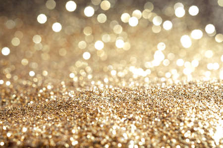 Metal gold dust sand glitter abstract Imagens