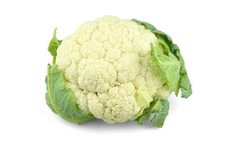 Cauliflower isolated on a white background