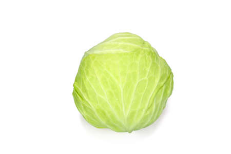 Cabbage vegetables isolated on white background Archivio Fotografico
