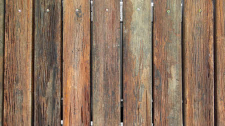 Old wooden fence wall panels background texture