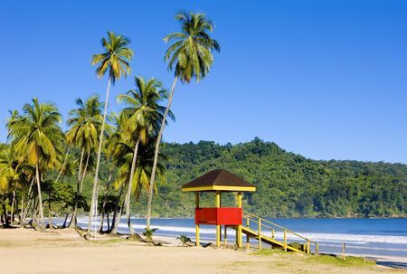 Maracas Bay, Trinidad and Tobago Stock Photo - 4985638
