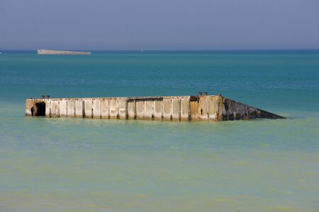 basse normandy: Arromanches, Normandy, France