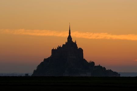 Mont-Saint-Michel, Normandy, France photo