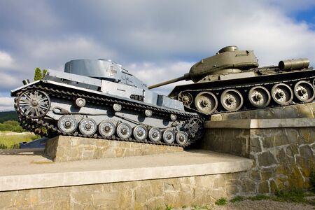 monument of World War II, Death Valley, Slovakia