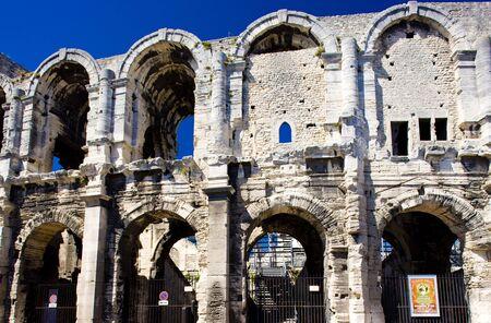 arles: Roman Amphitheatre, Arles, Provence, France