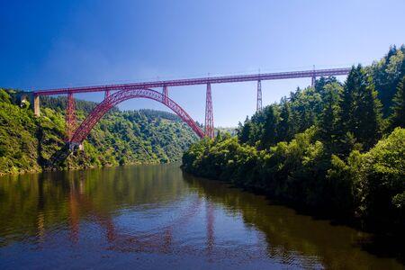 cantal: Garabit Viaduct, Cantal D�partement, Auvergne, France
