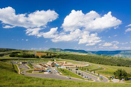 millau: visitor centre, Millau, Aveyron D�partement, France