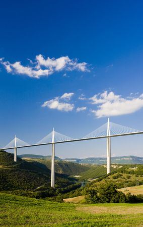 Millau Viaduct, Aveyron D�partement, France Stock Photo - 5177386