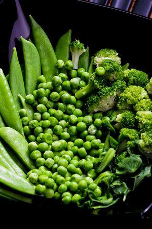 green vegetables still-life