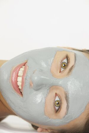 portrait of woman with facial mask Stock Photo - 5305276