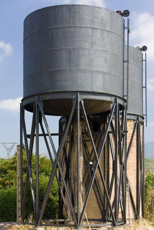 water tank: water tank, Huesca Province, Aragon, Spain