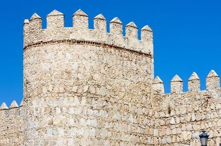 fortification of Avila, Castile and Leon, Spain photo