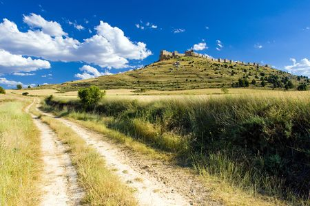 castile leon: Gormaz Castle, Soria Province, Castile and Leon, Spain