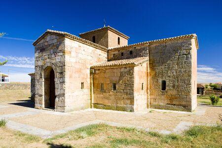 castile leon: church of San Pedro de la Nave, El Campillo, Zamora Province, Castile and Leon, Spain