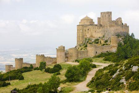 buidings: Loarre Castle, Huesca Province, Aragon, Spain