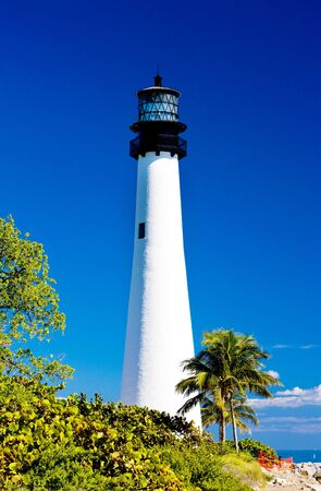 bill baggs: Cape Florida Lighthouse, Key Biscayne, Miami, Florida, USA