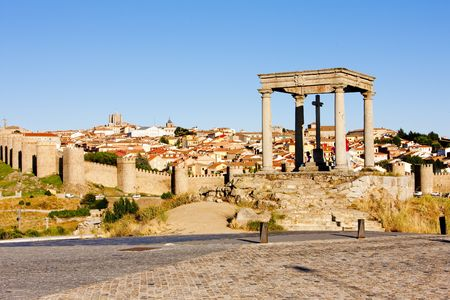 postes: Los cuatro postes (the four poles), Avila, Castile and Leon, Spain