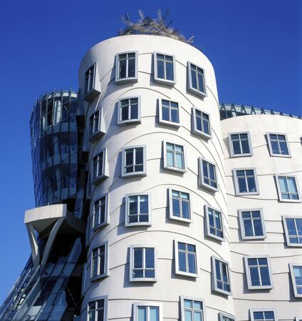 the dancing house: Praga, Rep�blica Checa, Casa Danzante