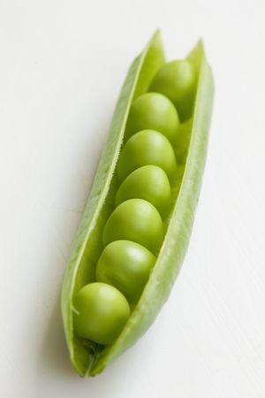 leguminosas: pod guisantes
