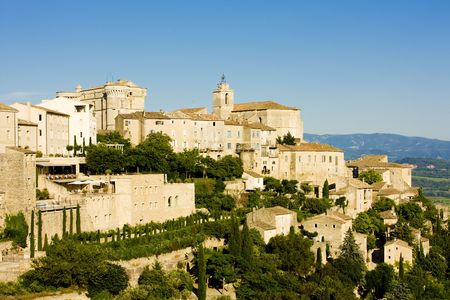 gordes: Gordes, Provence, France Stock Photo