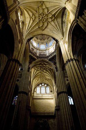 salamanca: interior of cathedral in Salamanca, Castile and Leon, Spain