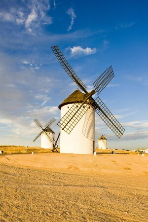 windmills, Campo de Criptana, Castile-La Mancha, Spain Stock Photo - 6001162