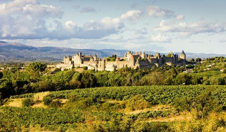 roussillon: Carcassonne, Languedoc-Roussillon, France