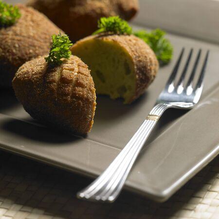 broccoli rissoles photo