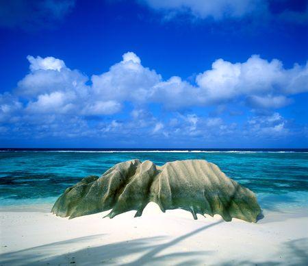 d'argent: Anse Source DArgent, La Digue, Seychelles