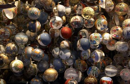 Christmas market, Vienna, Austria photo