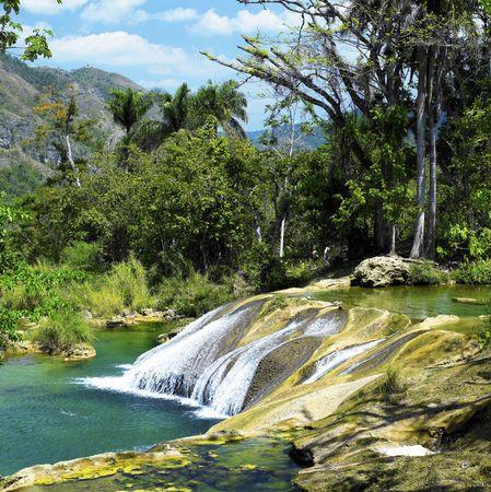 el: El Nicho waterfall, Cienfuegos Province, Cuba