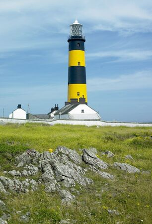 lighthouse, St. John's Point, County Down, Northern Ireland Stock Photo - 6083154