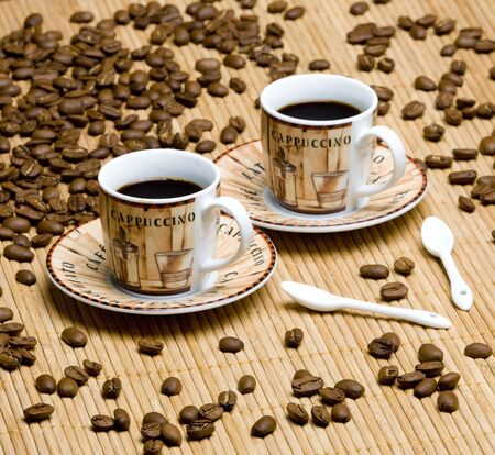 coffee still life Stock Photo - 6158181