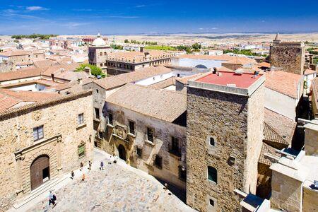 extremadura: Plaza de Santa Maria, Caceres, Extremadura, Spain